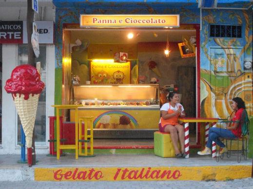 Gelaterie italiane in Messico tulum