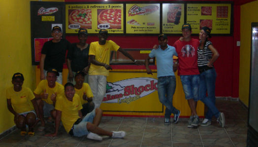 Pizzerie italiane ai Caraibi pizza
