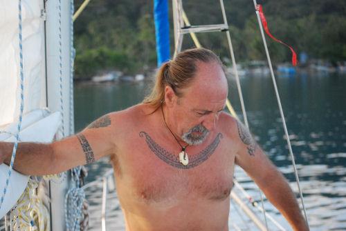 crociere Michele; vivere in Polinesia in barca a vela