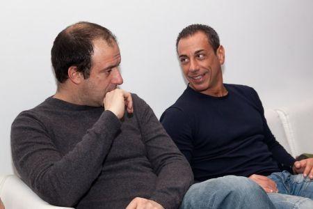 Diego Angelini e Alberto Mattei lavorare da casa