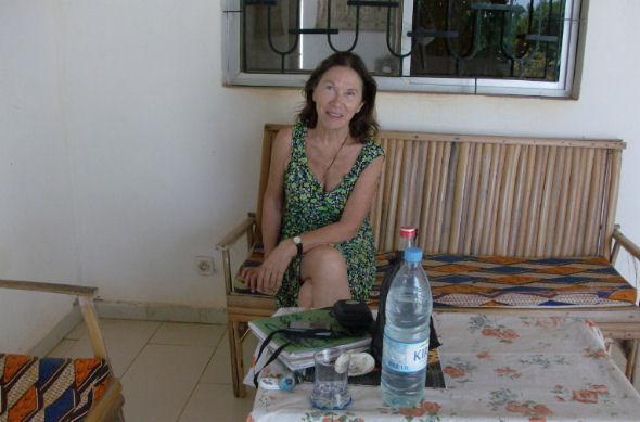 Vanna Vallino in Senegal bed & breakfast