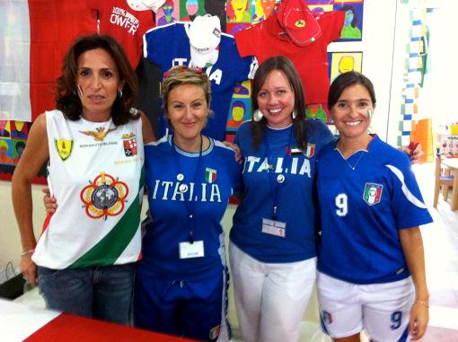 Una famiglia italiana ad Abu Dhabi
