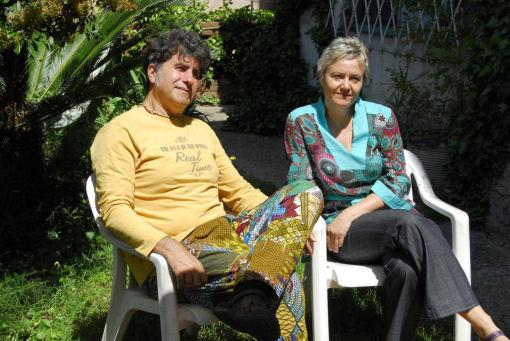 Tonj Acquaviva e Rosie Wiederkehr