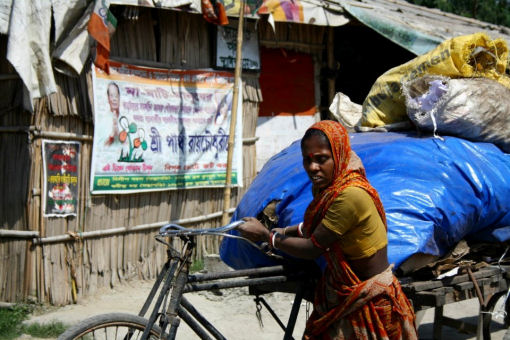Vivere e lavorare a Calcutta, India