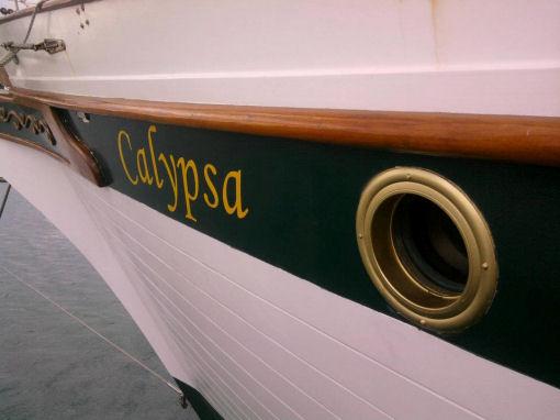 Calypsa, Gianfranco Del Signore barca