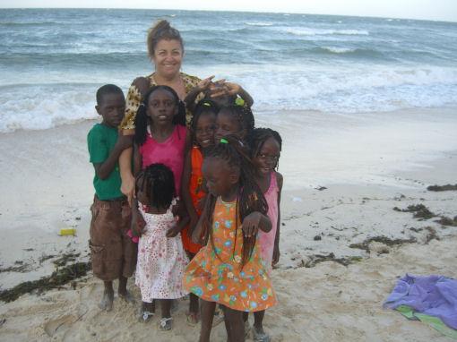 Giuseppina Maccari  bambini africani