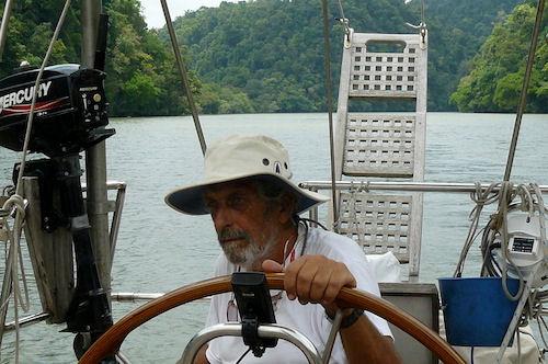 Luigi Ottogalli, rotta a Zig Zag viaggiando in mare