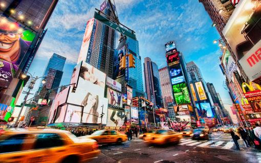 vivere a New York america