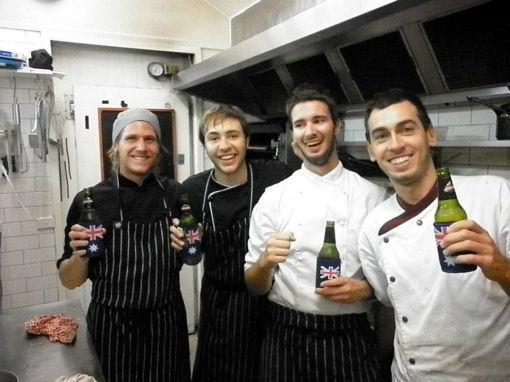 Luca Radaelli, Australia chef