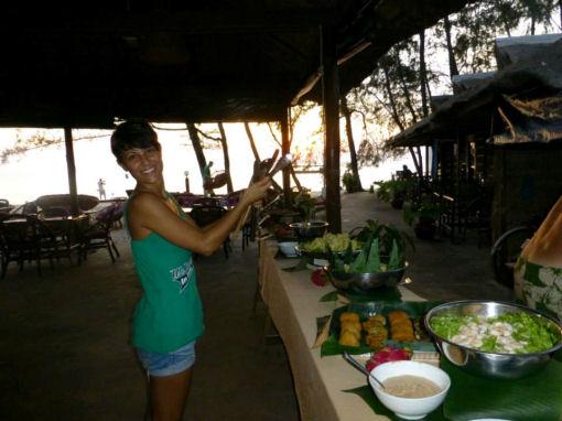 Papa Pippo, Otres Beach in Cambogia