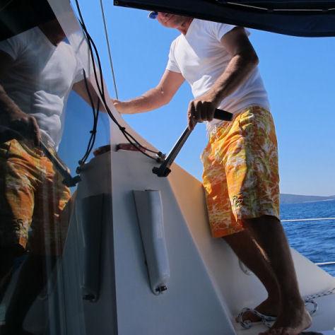 in catamarano per il mondo