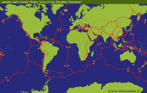 Cartina Vulcani Nel Mondo.Vulcani I Posti In Cui Stare Al Sicuro Voglio Vivere Cosi