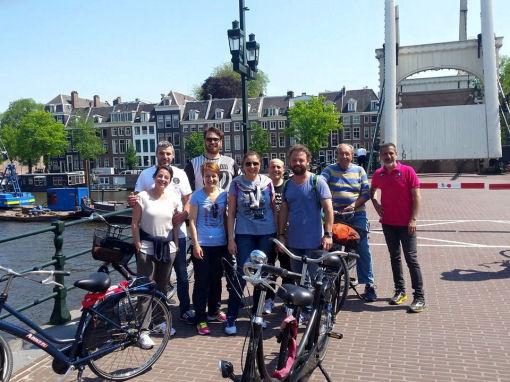 Fabiano di Lecce ad Amsterdam