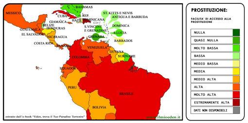 mappa mondiale prostituzione