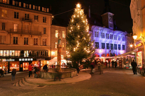 mercatini di Natale Svizzera