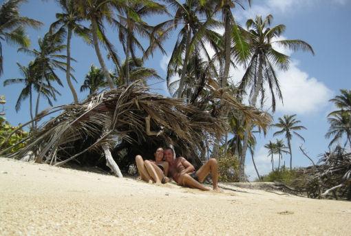 Chichiriviche nello stato di Falcon sul Mar dei Caraibi