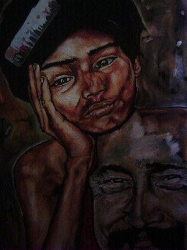 Disegni e dipinti artisti di strada