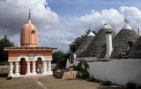 ASHRAM Cisternino il tempio