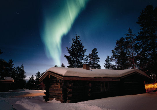 Aurora Boreale Svezia  vivere in Svezia