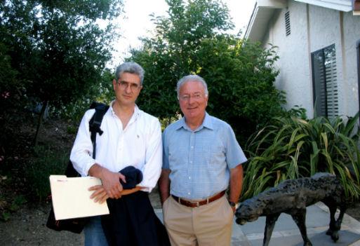Roberto Bonzio e Federico Faggin frontiera