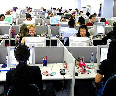 Lavorare in un call center forza