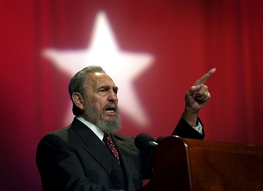 Fidel Castro isola di cuba