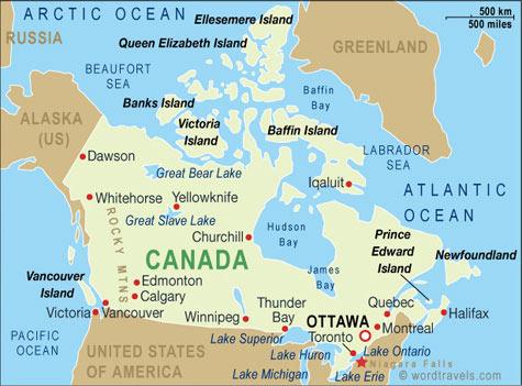 Piantina del Canada