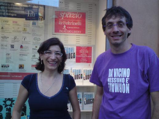 Claudia Ceroni e Federico Taddia fuori luogo