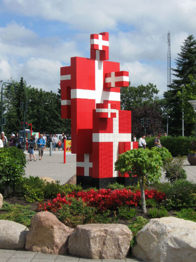 Lego a Copenaghen danimarca