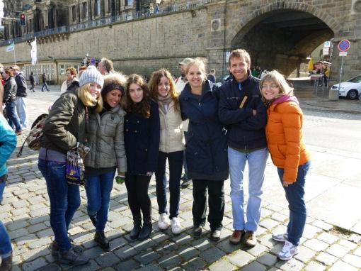 Erasmus a Dresda