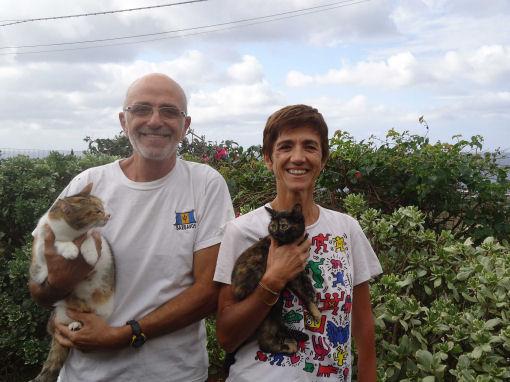 Giuliana e Toni a Pantelleria