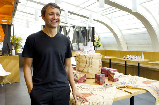 Gianluca Franzoni, Domori  cacao