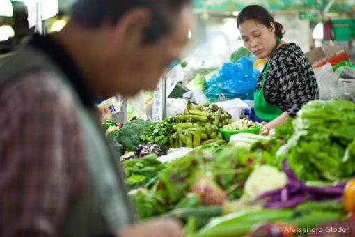 mercato di Wuding Lu shangai