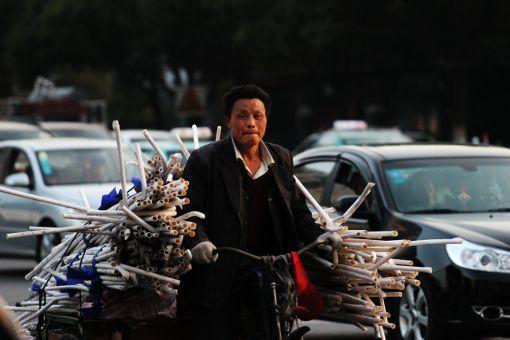Shanghai, scene di vita quotidiana lavorare in cina