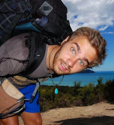 Angelo Zinna in Nuova Zelanda