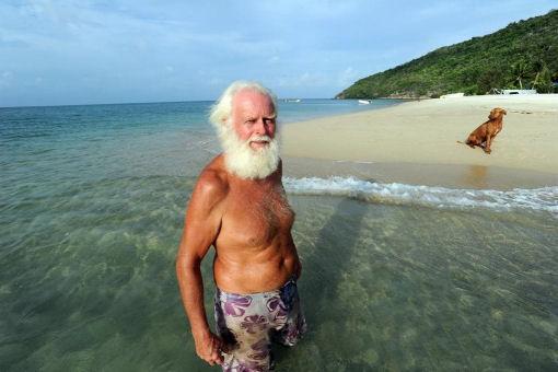 Barriera corallina australiana L'ultimo Robinson Crusoe