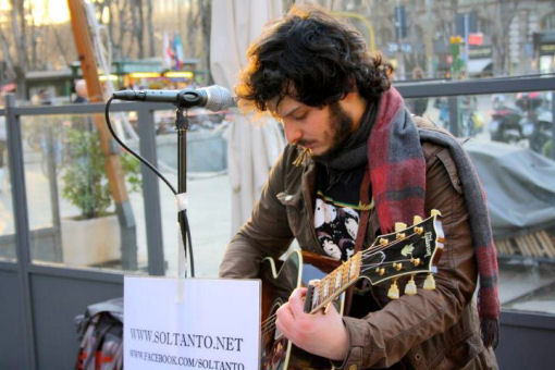 Matteo Terzi in arte Soltanto on the road