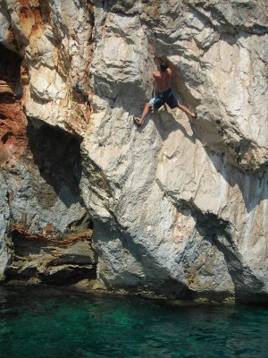Climbing in Sardinia sardegna