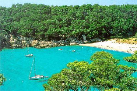 Spiaggia di Minorca baleari