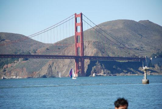 vivere a San Francisco Golden Gate