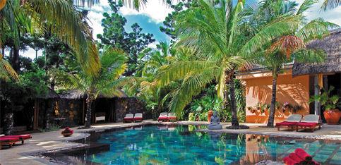 vista del Dinarobin Hotel Golf Mauritius