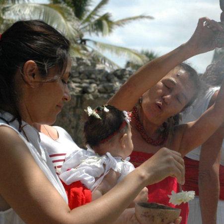 Battesimo in messico playa del carmen