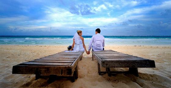 Sposarsi sulla spiaggia playa del carmen