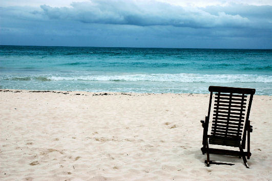 Spiaggia a Playa del Carmen