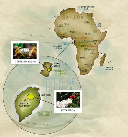 Dove lavora Corallo in Africa