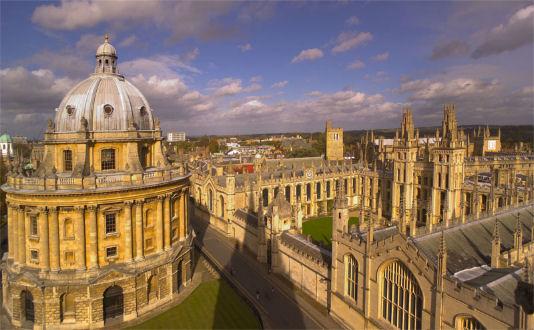 Studiare a Oxford lingue