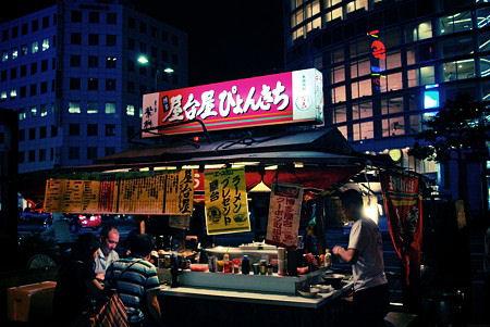 Fukuoka,Yatai, i celebri chioschi della citta' fukuoka