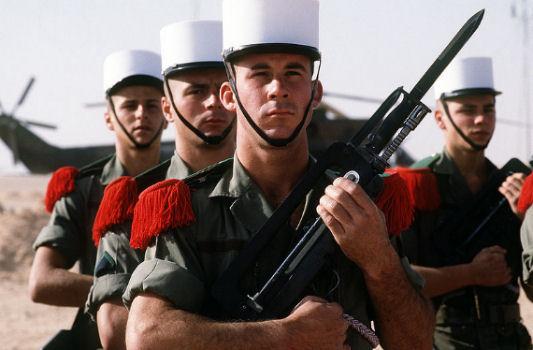 arruolarsi nella legione straniera
