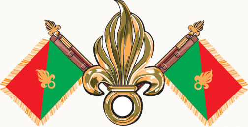 bandiera della legione straniera