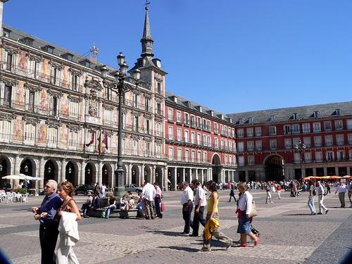 Vivere a Madrid spagna